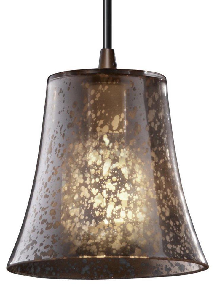 Avignon 1-Light Pendant, Bronze