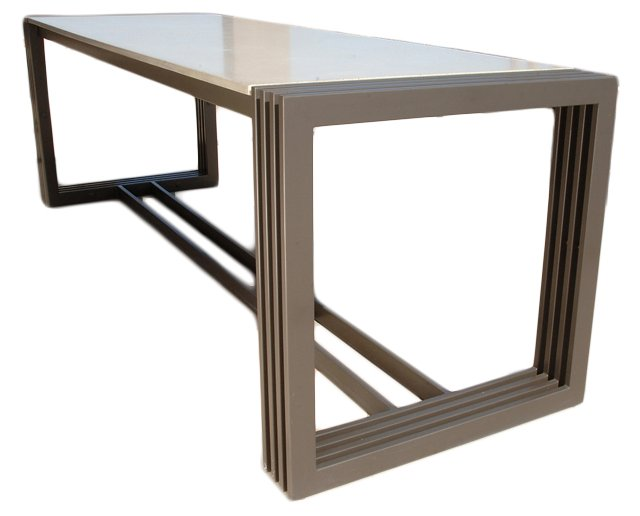 *D Tall Engagement Dining Table