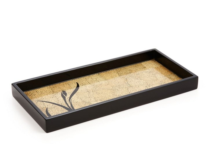 2-Drink Lacquer Tray, Bloom & Egg
