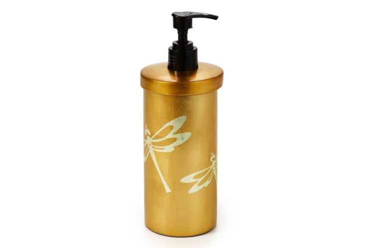 Lotion Holder, Dragonflies
