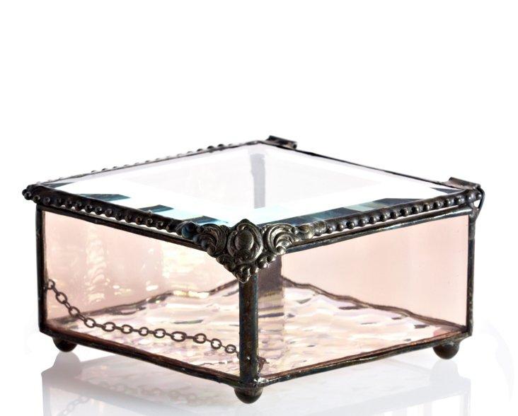 Glass Charm Box