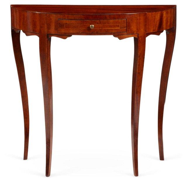 Gabrielle Demilune Table