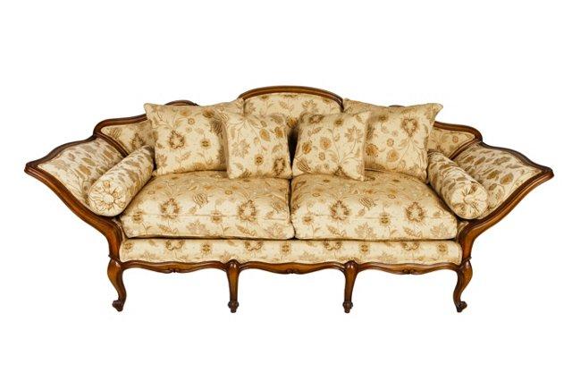 """Louis 90"""" Sofa"""