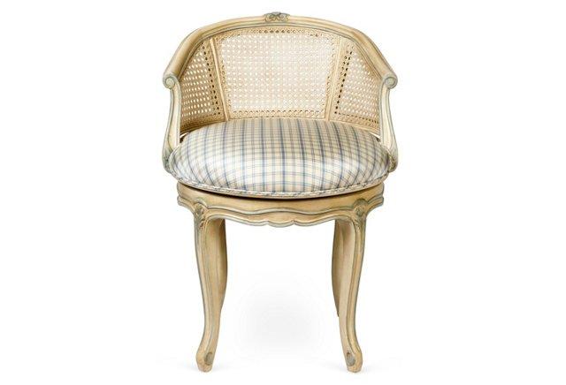 Louis XV Swivel Bench