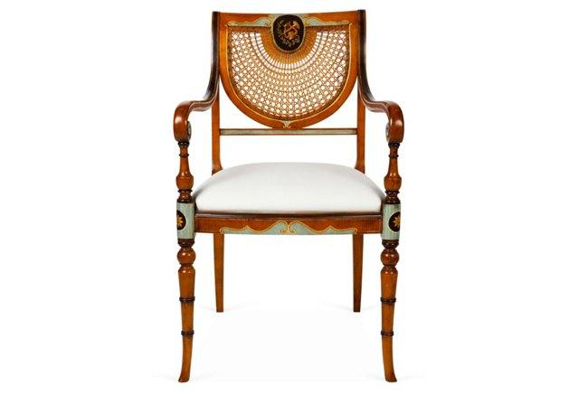 Colmar Chair, Toffee