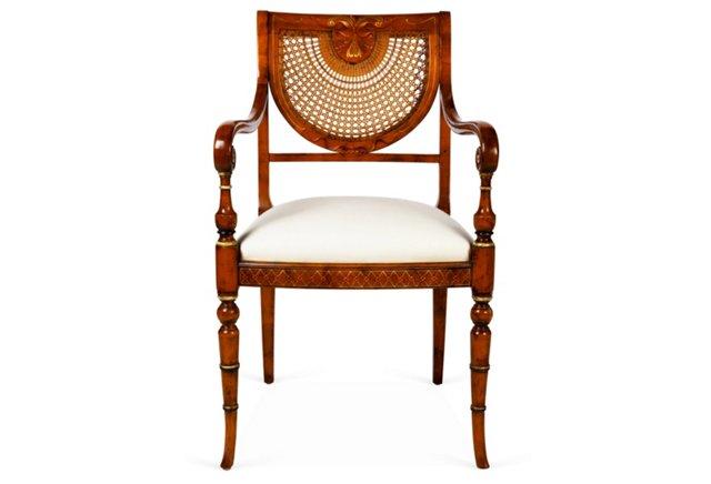 Colmar Chair, Mahogany