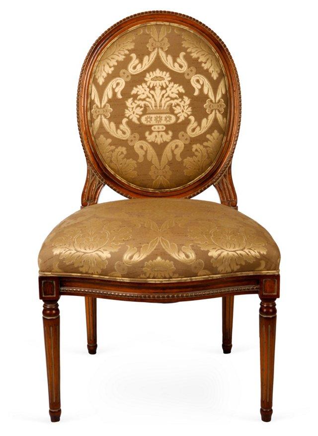 Toulon Side Chair, Mahogany