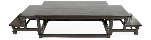 Nesting Coffee Table, Set of 3