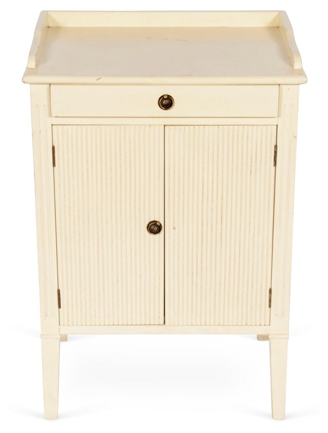 Swedish Painted Bedside Table