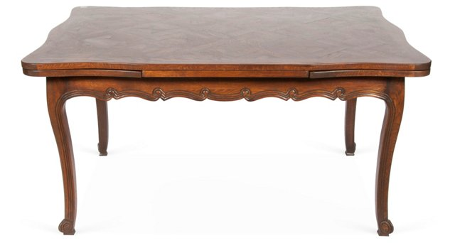 French Dining Table w/ Leaves