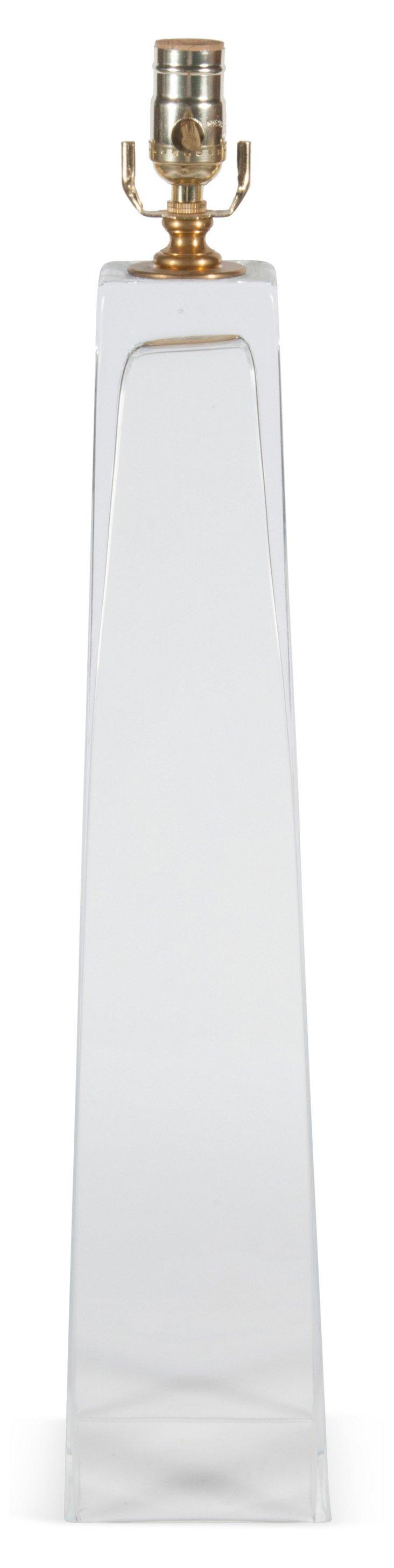 Barbara Cosgrove Glass Lamp