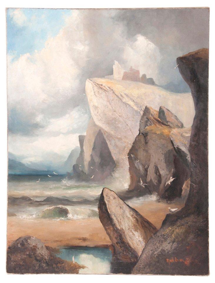 Mark Anson Oil Painting