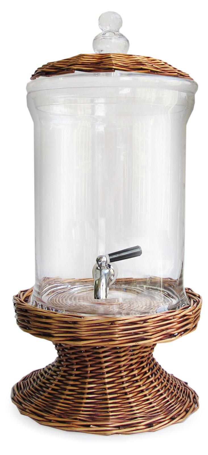 Willow Glass Beverage Dispenser