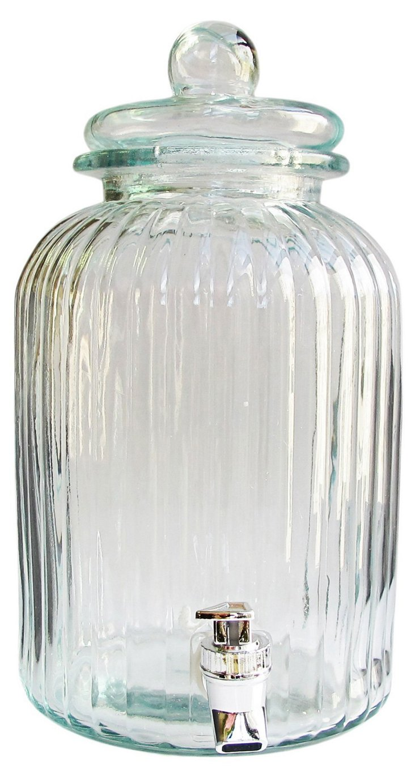 Springfield Glass Beverage Dispenser