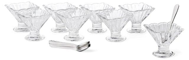 17-Pc Alexandria Taster Tinis Set