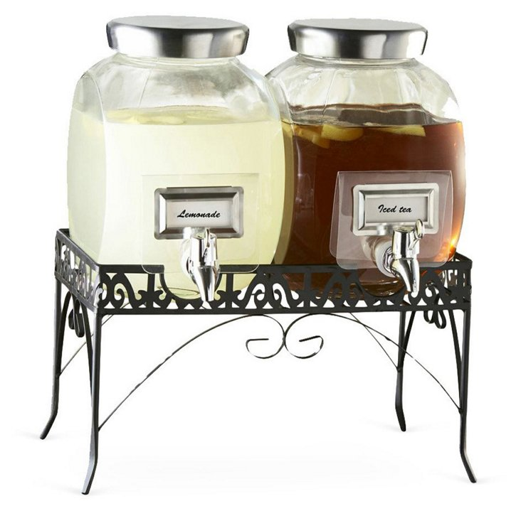 Provence Beverage Dispenser Set