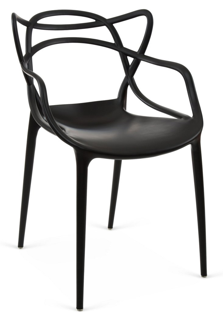 Delaney Armchair, Black