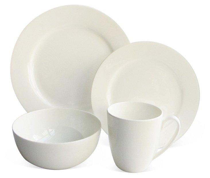16-Pc Classic Bone China Dinnerware Set