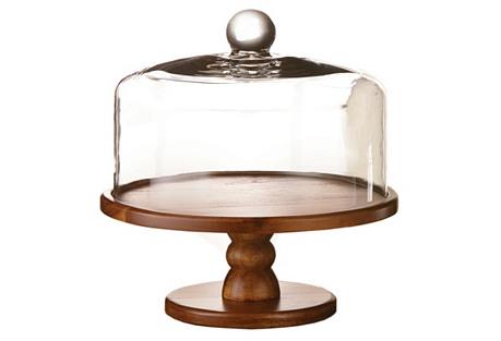 Madera Pedestal Plate w/ Dome