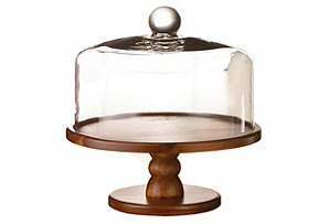 Madera Pedestal Plate w/ Dome*