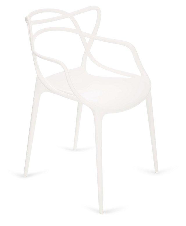 Delaney Chair, White