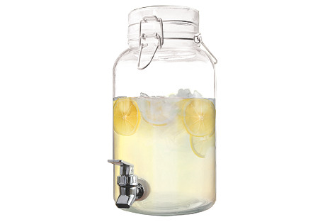 Mason Beverage Dispenser, 1 Gal