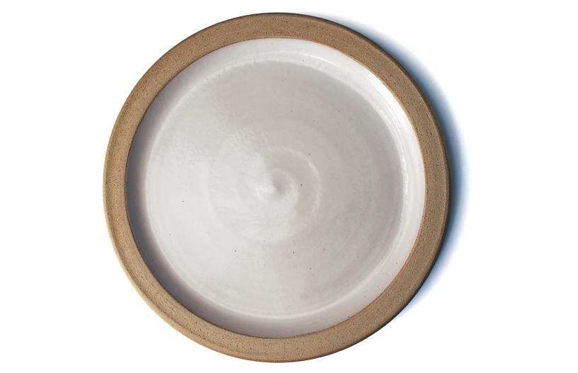 Silo Classic Dinner Plate, Natural/White