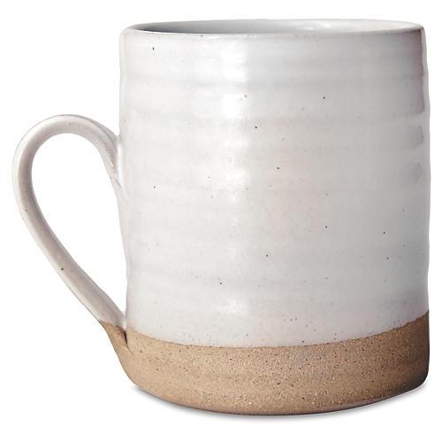 Silo Mug, White/Natural