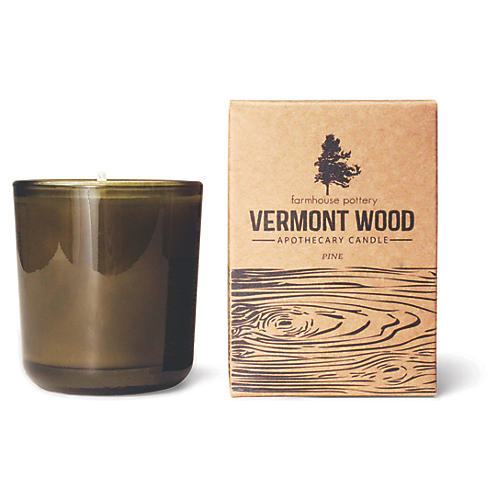 Vermont Wood Candle, Pine