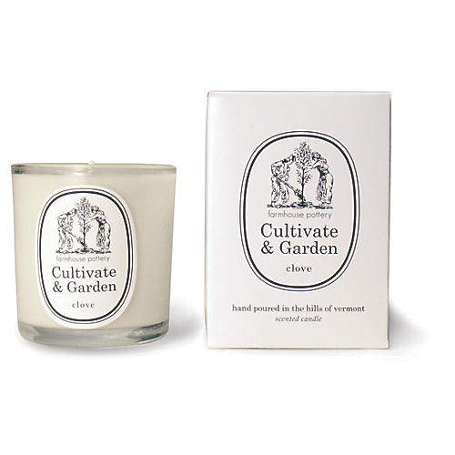 Cultivate & Garden Candle, Clove