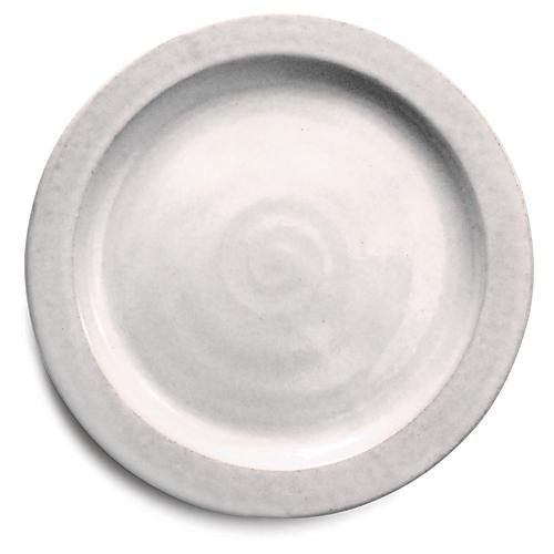 Silo Dinner Plate, White