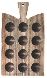Araaucana Egg Tray, Gray/Natural