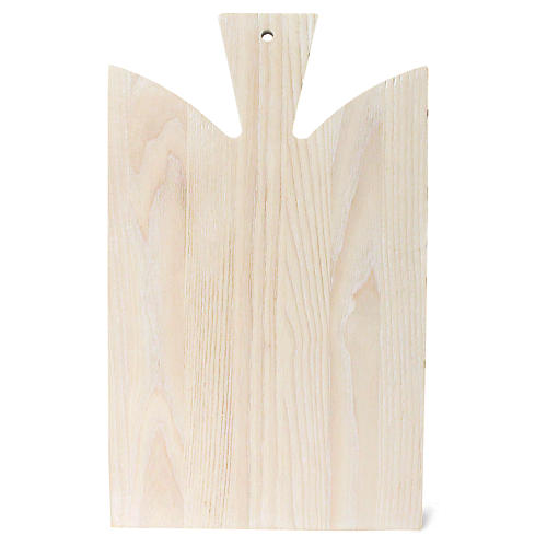 Araaucana Cutting Board, White/Natural