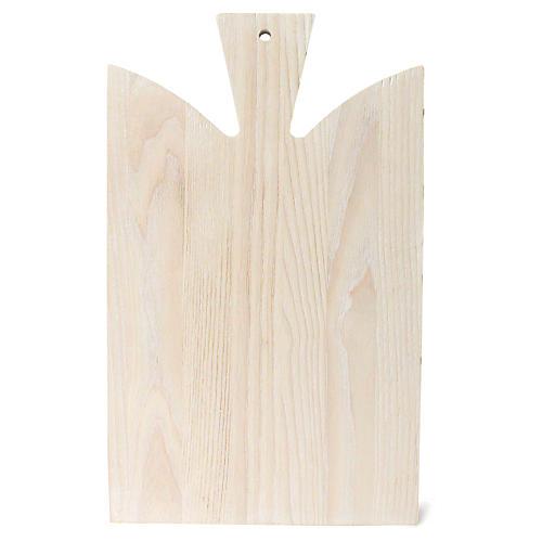 Araaucana Cutting Board, White/Natural