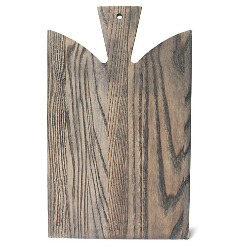 Araaucana Cutting Board, Gray/Natural