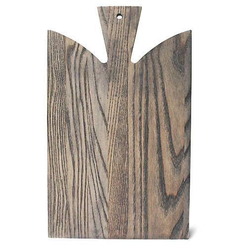 Araaucana Cutting Board, Gray/Natural