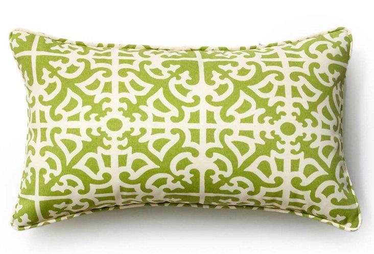 Malibu 12x20 Outdoor Pillow, Celery