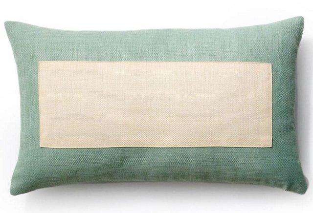 Window 12x20 Outdoor Pillow, Mint