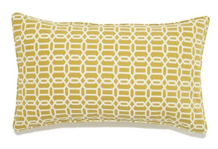 Mosaic 12x20 Outdoor Pillow, Maize