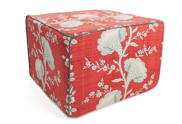 Geisha Ottoman, Red