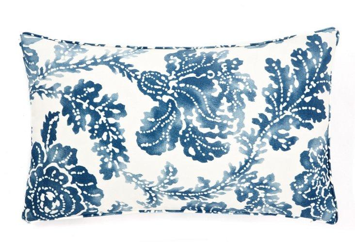 Fern 12x20 Pillow, Blue