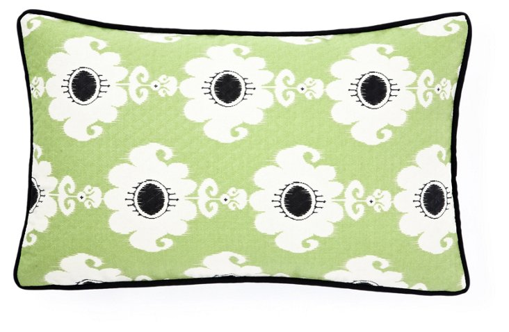 Rise 12x20 Outdoor Pillow, Green