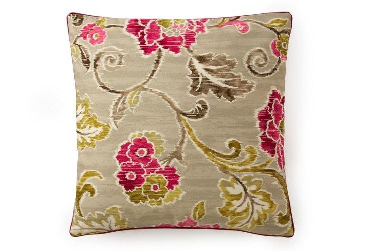 Claire 20x20 Pillow, Fuchsia