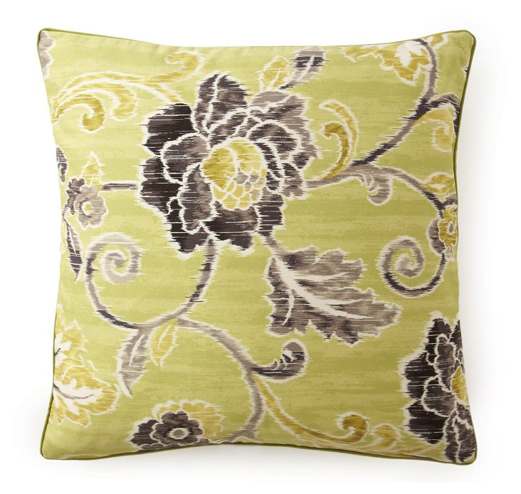 Claire 20x20 Pillow, Lime