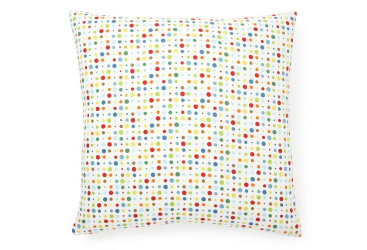 Circus Dots 20x20 Pillow, Multi