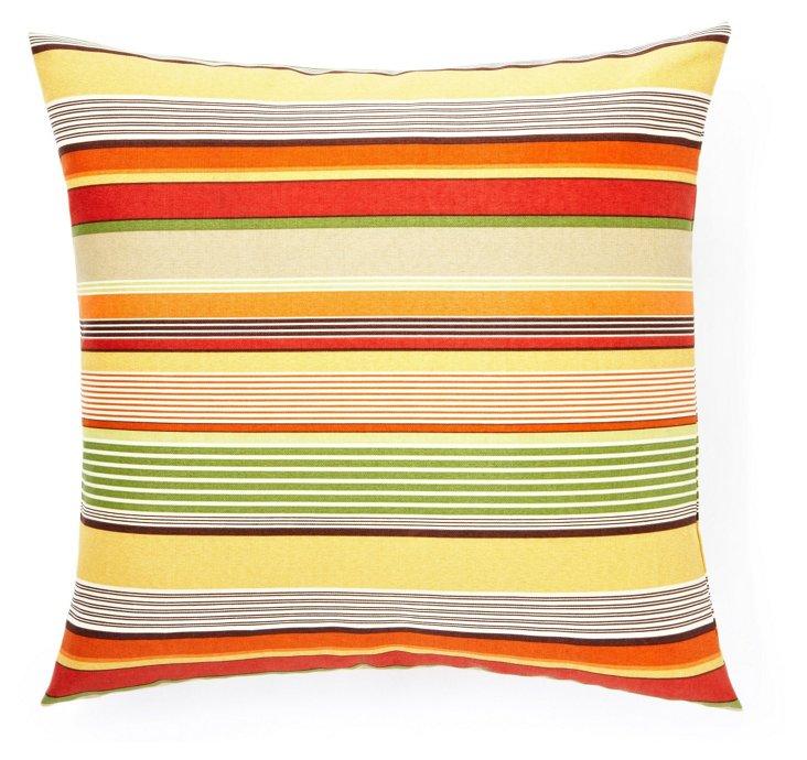 Sunnyville 20x20 Outdoor Pillow, Orange