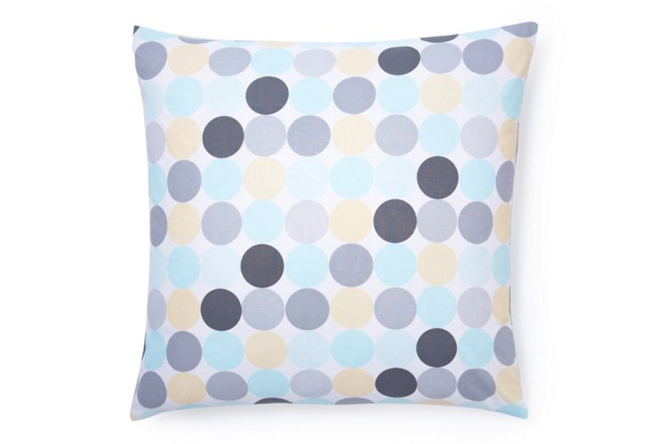 Disco Dot 20x20 Pillow, Multi