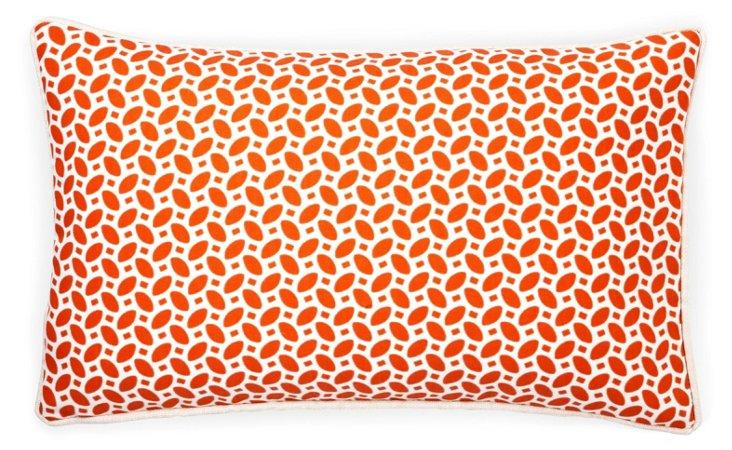 Pik Pak 12x20 Outdoor Pillow, Red