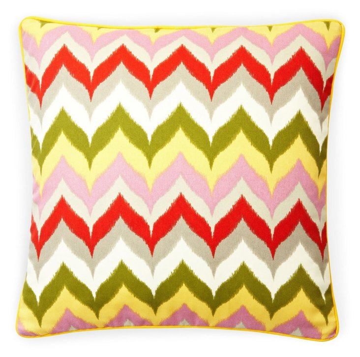 Zigzag 20x20 Pillow, Sage
