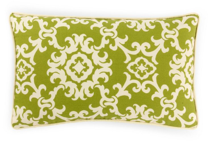 Alvin 12x20 Outdoor Pillow, Green